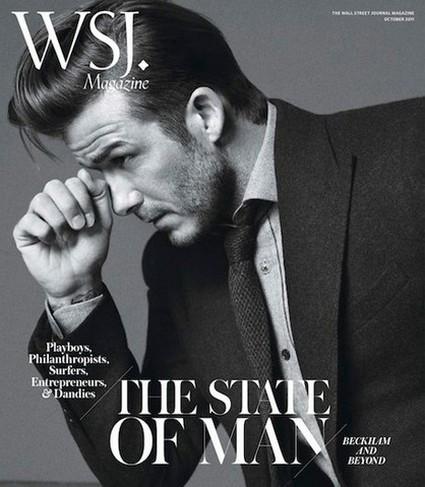 David Beckham Graces The Cover Of WSJ Magazine