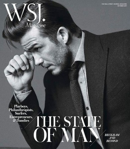 David Beckham Graces The Cover Of WSJ Magazine