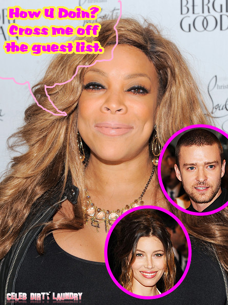 Wendy Williams Has No Hope For Justin Timberlake And Jessica Biel's Marriage