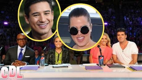 Khloe Kardashian and Mario Lopez in Final Talks to Co-Host X-Factor Season 2!