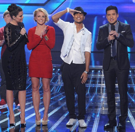 Beatrice Miller and Arin Ray Voted Off X-Factor USA - CeCe Frey Survives Shocking Elimination