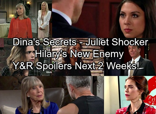 The Young and the Restless Spoilers for Next 2 Weeks: Dina's Secrets Revealed – Victoria Gets Revenge – Juliet's Big Surprise