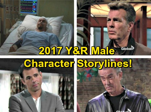 The Young and the Restless Spoilers: New Year's 2017 Resolutions - Lead Male Characters' Storylines Revealed