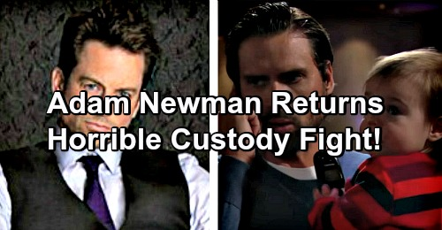 The Young and the Restless Spoilers: Y&R Pressured to Bring Adam Newman Back – Paternity Secret Sets Up Custody Battle