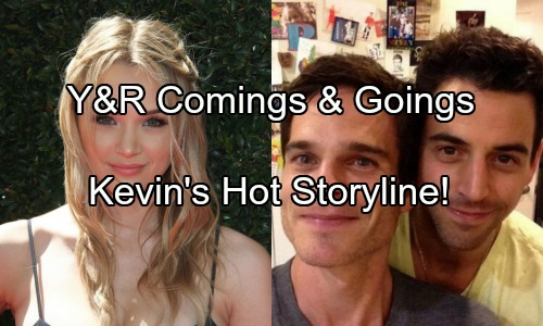 The Young and the Restless Spoilers: Comings and Goings - Greg Rikaart Returns For A Hot Story - What's Up With Hunter King?