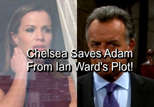 The Young and the Restless Spoilers: Brainwashed Adam Carries Out Twisted Ian Ward Plot – Chelsea's Kiss Breaks the Trance