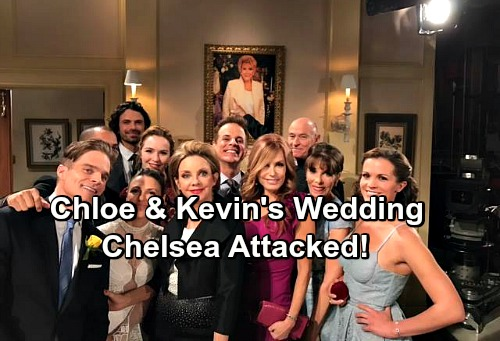 The Young and the Restless Spoilers: Chloe and Kevin's Wedding Brings Huge Shockers – Chelsea Attacked as Secret Exposed