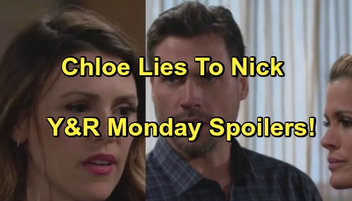 The Young and the Restless Spoilers: Chloe Lies About Tracker – Victor Wants Scott as Cowriter – Jack Insults Ashley Over Ravi