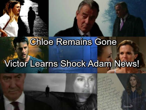 The Young and the Restless Spoilers: Chloe Won't Be Caught – Victor's Search Brings Shocking Adam Newman News