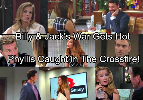 The Young and the Restless Spoilers: Jack and Billy's War Reignites – Phyllis Panics Over Discovery as Billy Gets Surprising Ally