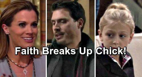 The Young and the Restless Spoilers: Faith Cooks Up Sabotage Plot, Drives Chelsea and Nick Apart – Schemer Causes Major Drama