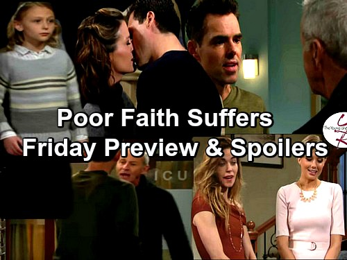 The Young and the Restless Spoilers: Lily Breaks Up Hospital Fight – Faith Demands Nick and Sharon Get Back Together