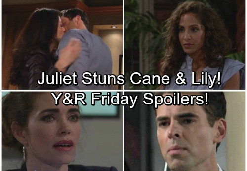 The Young and the Restless Spoilers: Juliet Stuns Cane and Lily With Confession - Victoria Desperate For Billy