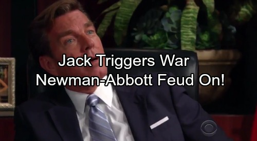 The Young and the Restless Spoilers: Jack's Bold Moves Provoke Victor's Wrath – Newman-Abbott War Reignited