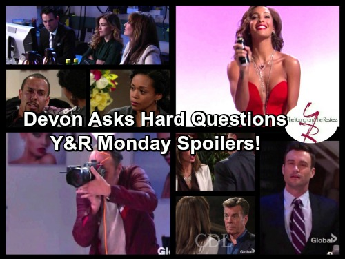 The Young and the Restless Spoilers: Nervous Hilary Faces Devon's Questions – Jill on the Warpath – Lily Struts Her Stuff