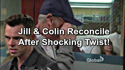 The Young and the Restless Spoilers: Colin's Investment Pays Off – Jill Grudgingly Grateful, Takes Husband Back
