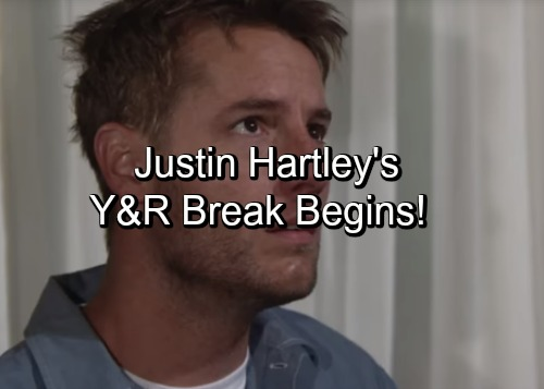 The Young and the Restless Spoilers: Victor's Escape Scheme Gets Adam Out Of GC - Justin Hartley's Y&R Break Begins