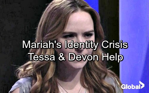 The Young and the Restless Spoilers: Mariah Struggles With Her Identity – Devon and Tessa Can Help