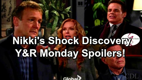The Young and the Restless Spoilers: Nikki's Shock Discovery – Paul and Lauren Fight Over Scott – Ravi and Phyllis Delay