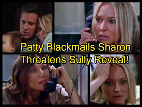 The Young and the Restless Spoilers: Patty Blackmails Sharon – Sully Bargaining Chip in Evil Christian Reveal Game
