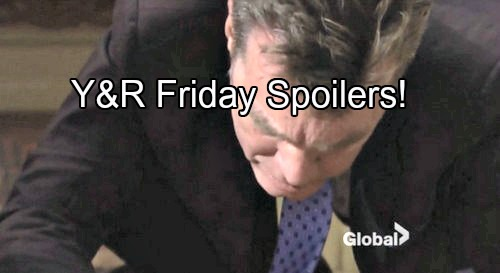 'The Young and the Restless' Spoilers: Jack and Billy Try to Awaken Injured Phyllis – Police Get Involved, Crime Committed