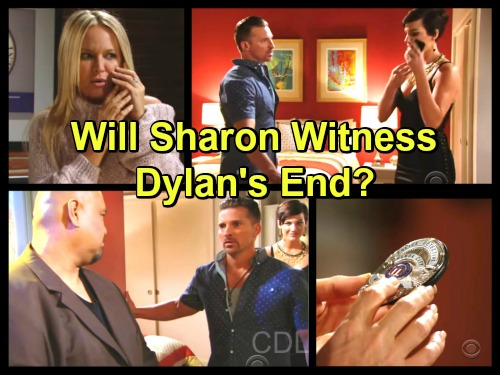 The Young and the Restless Spoilers: Will Sharon Witness Dylan's End – Steve Burton's Swan Song Arrives