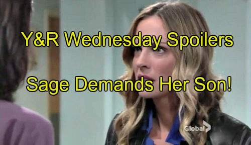 The Young and the Restless (Y&R) Spoilers: DNA Results Panic Sharon, Prepares to Skip Town – Sage Shocked to Learn Son Alive