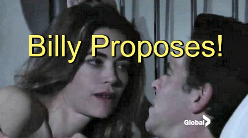 The Young and the Restless (Y&R) Spoilers: Billy Proposes to Victoria – Conflict Heats Up With Victor