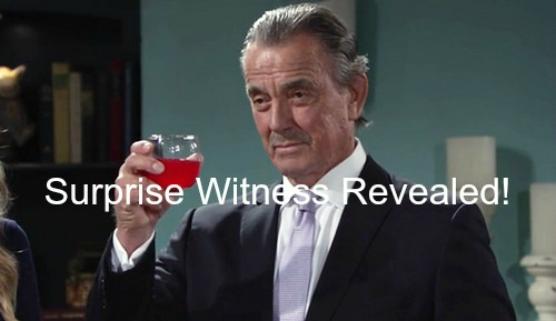 The Young and the Restless (Y&R) Spoilers: Victor's Surprise Witness Revealed - Sage or Gabriel Bingham?