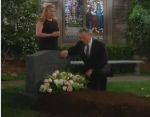 'The Young and the Restless' Spoilers: Nikki's Out-of-Body Experience, Sees Victor Sobbing at Grave, Decides to Go to Rehab