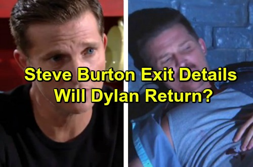 The Young and the Restless Spoilers: Steve Burton Reveals Shocking Y&R Exit Details