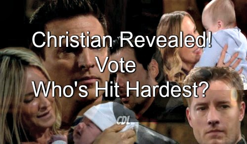 The Young and the Restless (Y&R) Spoilers: Who Is Hit Hardest by Christian Alive Reveal - Sharon, Sage, Nick, Dylan or Adam?
