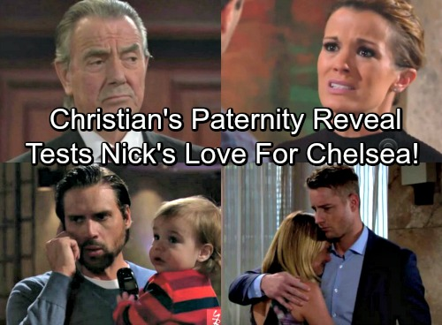 The Young and the Restless Spoilers: Victor's Secret Weapon - Christian Paternity Reveal Tests Nick's Love For Chelsea