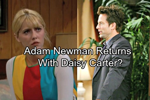 The Young and the Restless Spoilers: Adam Newman Watches Solar Eclipse From Woods – Daisy Carter Cares For Lost Amnesiac?