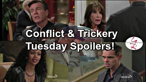 The Young and the Restless Spoilers: Jack Suspicious of Hilary's Motives – Billy Takes Drastic Action Against Colin