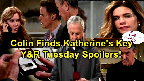 The Young and the Restless Spoilers: Colin Finds Katherine's Hidden Key - Victor Takes Charge of Scott's Rescue