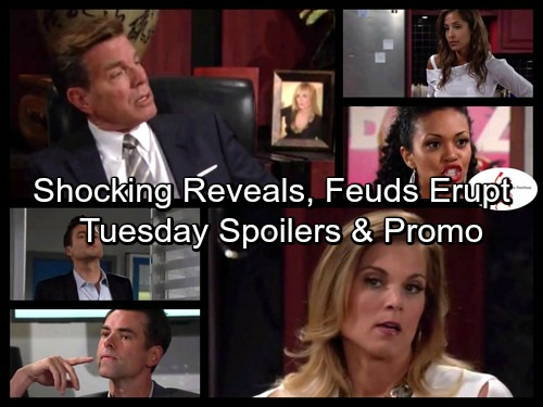 The Young and the Restless Spoilers: Jack Busts Phyllis – Hilary and Lily's Feud Erupts – Juliet Struggles with Guilt
