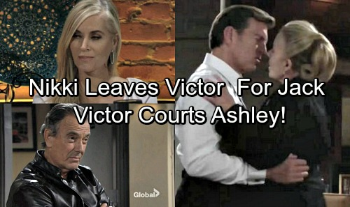 The Young and the Restless Spoilers: Nikki Leaves Victor for Jack By Labor Day – Victor Courts Ashley For Revenge