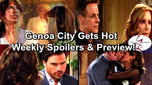 The Young and the Restless Spoilers: Jack and Gloria Play with Fire – Lauren Desperate For Ransom – Nick and Chelsea Get Steamy