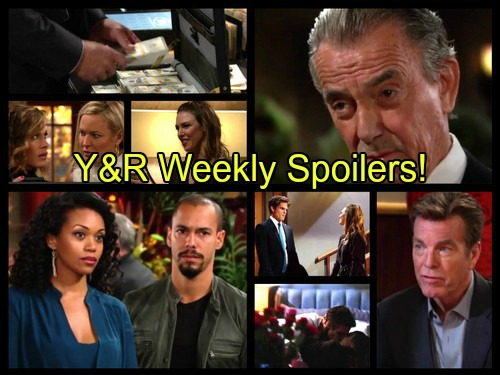 'The Young and the Restless' Spoilers: Week of October 24 – Dangerous Battles, Growing Fears and Bursting Secrets!
