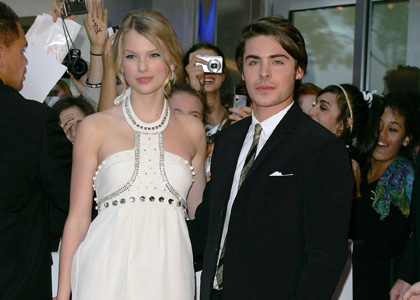 Taylor Swift and Zac Efron to Co-star in New Movie