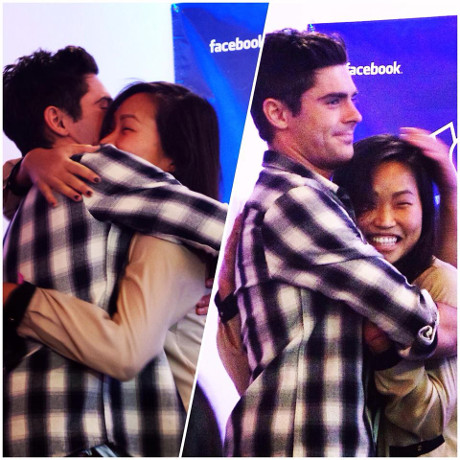 Zac Efron Emotionally Spills His Guts to Superfan Kirby Koo via Facebook: New Love Blossoming?