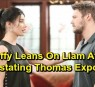 https://www.celebdirtylaundry.com/2019/the-bold-and-the-beautiful-spoilers-steffy-leans-on-liam-after-devastating-thomas-exposure-fears-for-sick-brother-liam-steps-up/