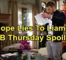 https://www.celebdirtylaundry.com/2019/the-bold-and-the-beautiful-spoilers-thursday-november-14-hope-lies-to-liam-hides-the-truth-ridge-cant-find-thomas/