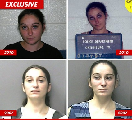 American Idol's 'Tent Girl' Contestant's Many, Many Mug Shots!