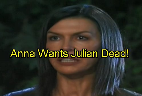 'General Hospital' Spoilers: Anna Wants Julian Dead - Quits PCPD to Seek Vengeance and Vigilante Justice