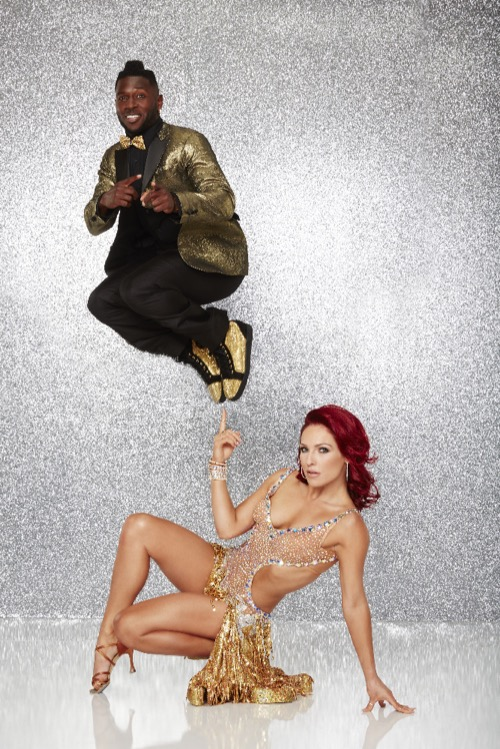 Antonio Brown Dancing With The Stars QuickstepVideo Season 22 Week 1– 3/21/16 #DWTS22