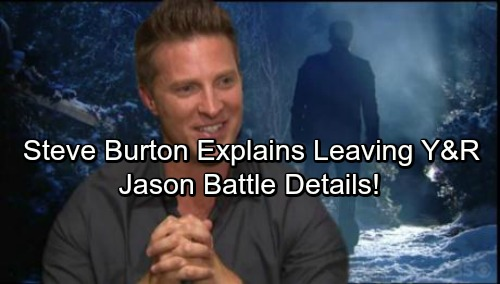 General Hospital Spoilers: Steve Burton Reveals Why He Left The Young and the Restless, Dishes on GH Comeback and Jason Battle