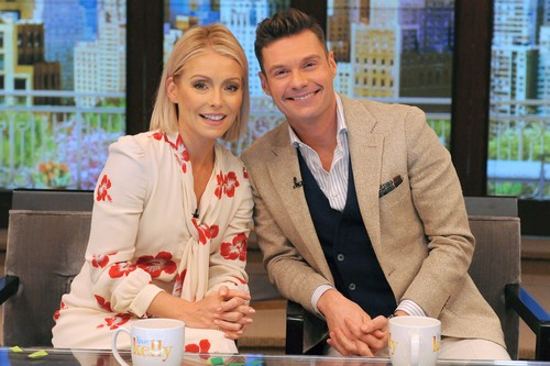 "A new era in daytime television began today when Kelly Ripa introduced the permanent co-host joining her on the top-rated, Emmy-winning ""Live"" franchise: Ryan Seacrest is the new co-host of the newly-rechristened ""Live with Kelly and Ryan,"" May 1, 2017."