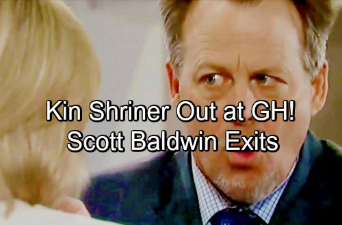 General Hospital Spoilers: Kin Shriner Out at GH – 'Scott Baldwin Has Left the Building!' - Shocking Casting News
